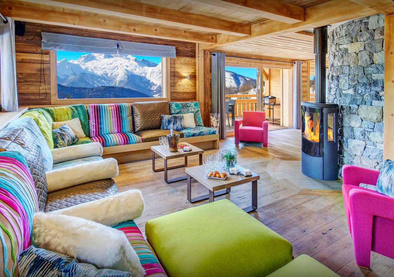Airbnb - Location Chalet Luxe NOUGAT, Piscine intérieure, Jacuzzi, Sauna et wifi  à Manigod en Haute- Savoie