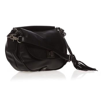 Sac à main en cuir noir IKKS bags - Sacs Ikks Brandalley - Iziva.com 1cd11806c195