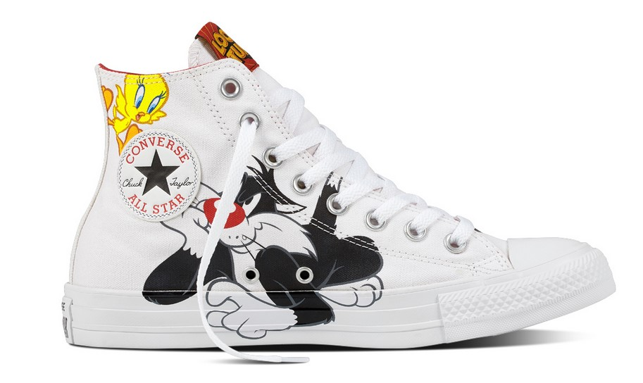 Converse Chuck Taylor All Star white/black/tweety yellow