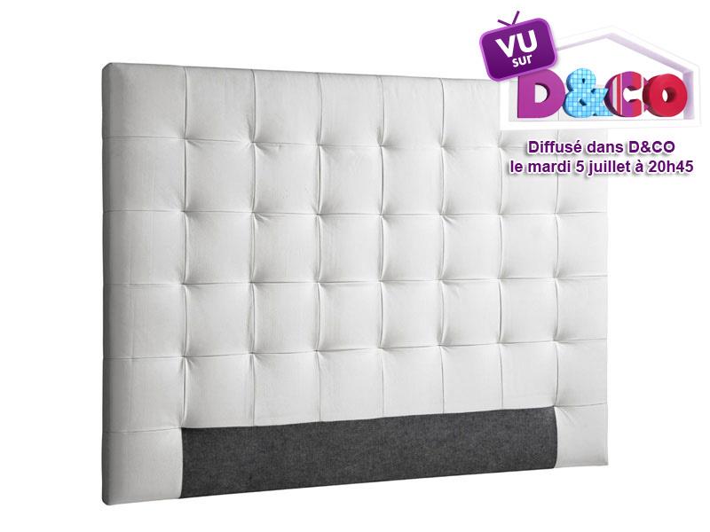Tete de lit capitonne pas cher table de lit - Tete de lit pas cher design ...
