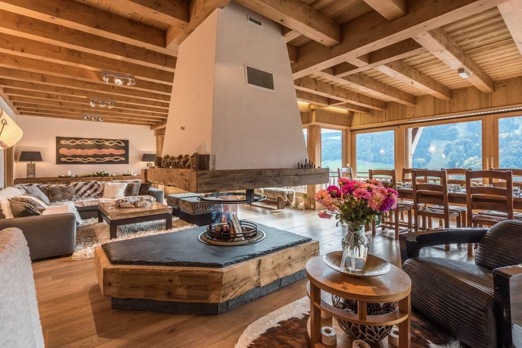 Airbnb - Location OMAROO II Chalet luxueux avec belle vue et sauna à Morzine en Haute Savoie