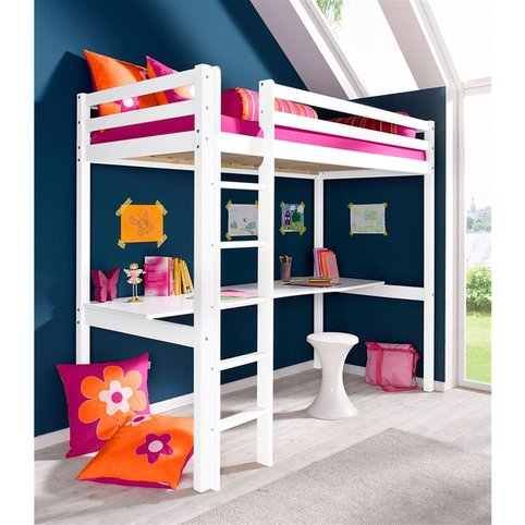 lit mezzanine flower power hoppekids lit enfant 3 suisses. Black Bedroom Furniture Sets. Home Design Ideas