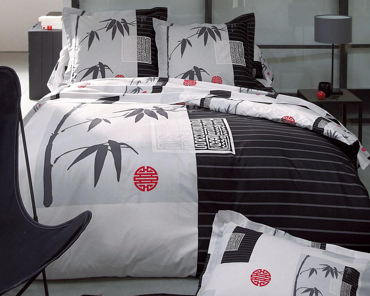 drap housse japonais Soldes Linge de Lit Becquet   Le Linge de lit décor japonais Prix  drap housse japonais