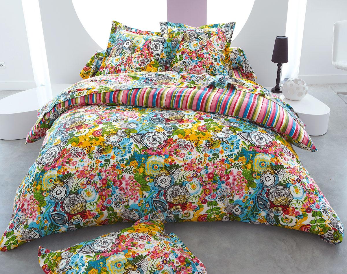 Drap Becquet   Linge de lit mille fleurs   Iziva.com