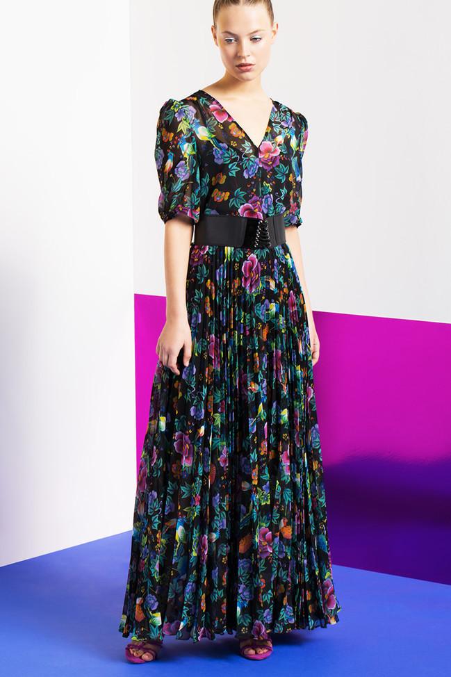 Populaires Robe rose fluo tara jarmon – Les tendances de la mode Française de  BF57