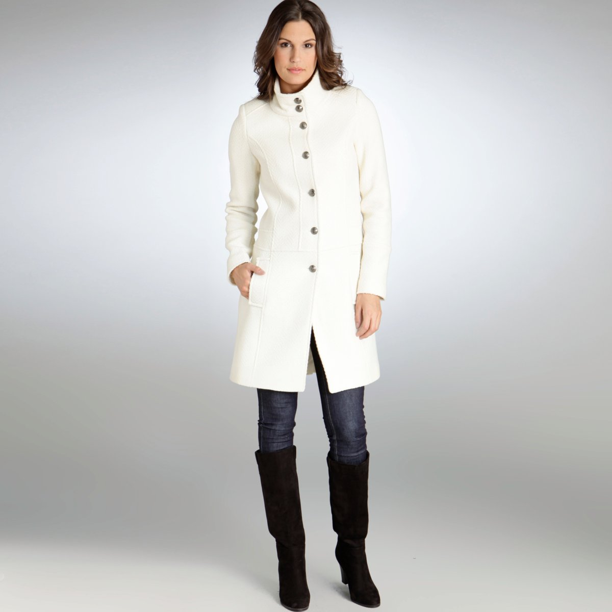 Manteau femme chaud soldes
