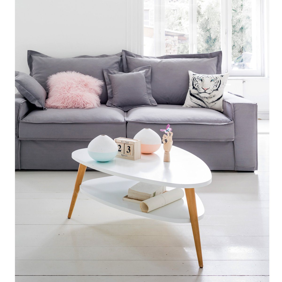 Canapé lit couchage express Hubot La Redoute Interieurs - Iziva.com