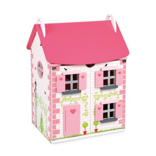 Maison de poupées meublée Janodl