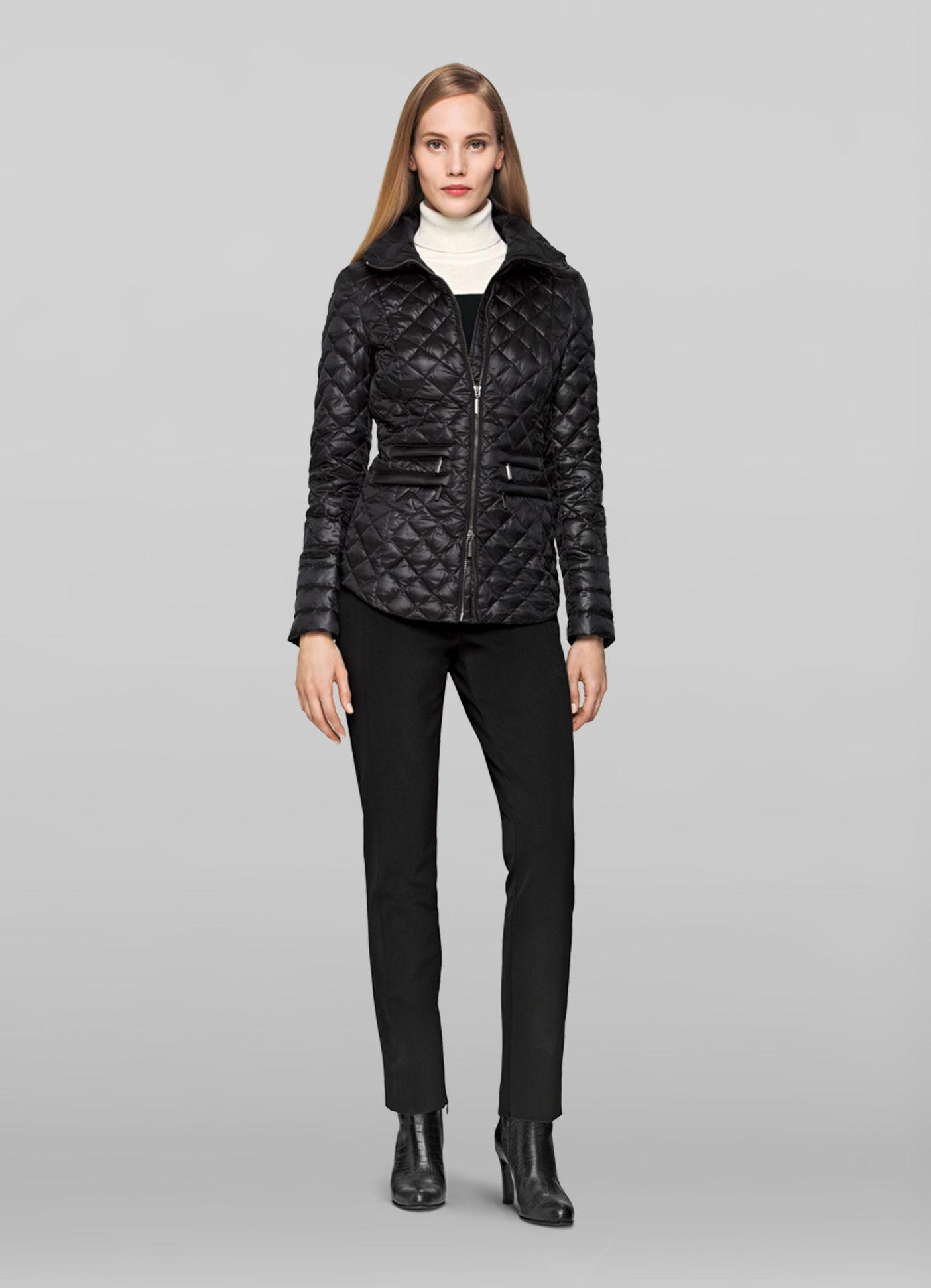 veste matelass e noir el gance veste femme elegance paris. Black Bedroom Furniture Sets. Home Design Ideas