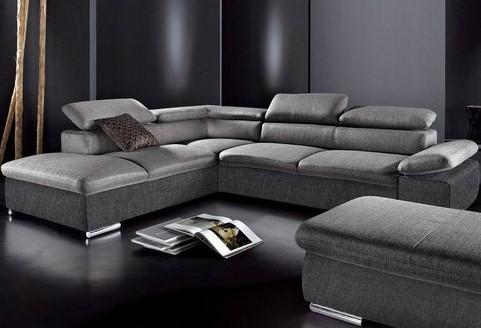canap d 39 angle en tissu angle fixe sit more soldes. Black Bedroom Furniture Sets. Home Design Ideas