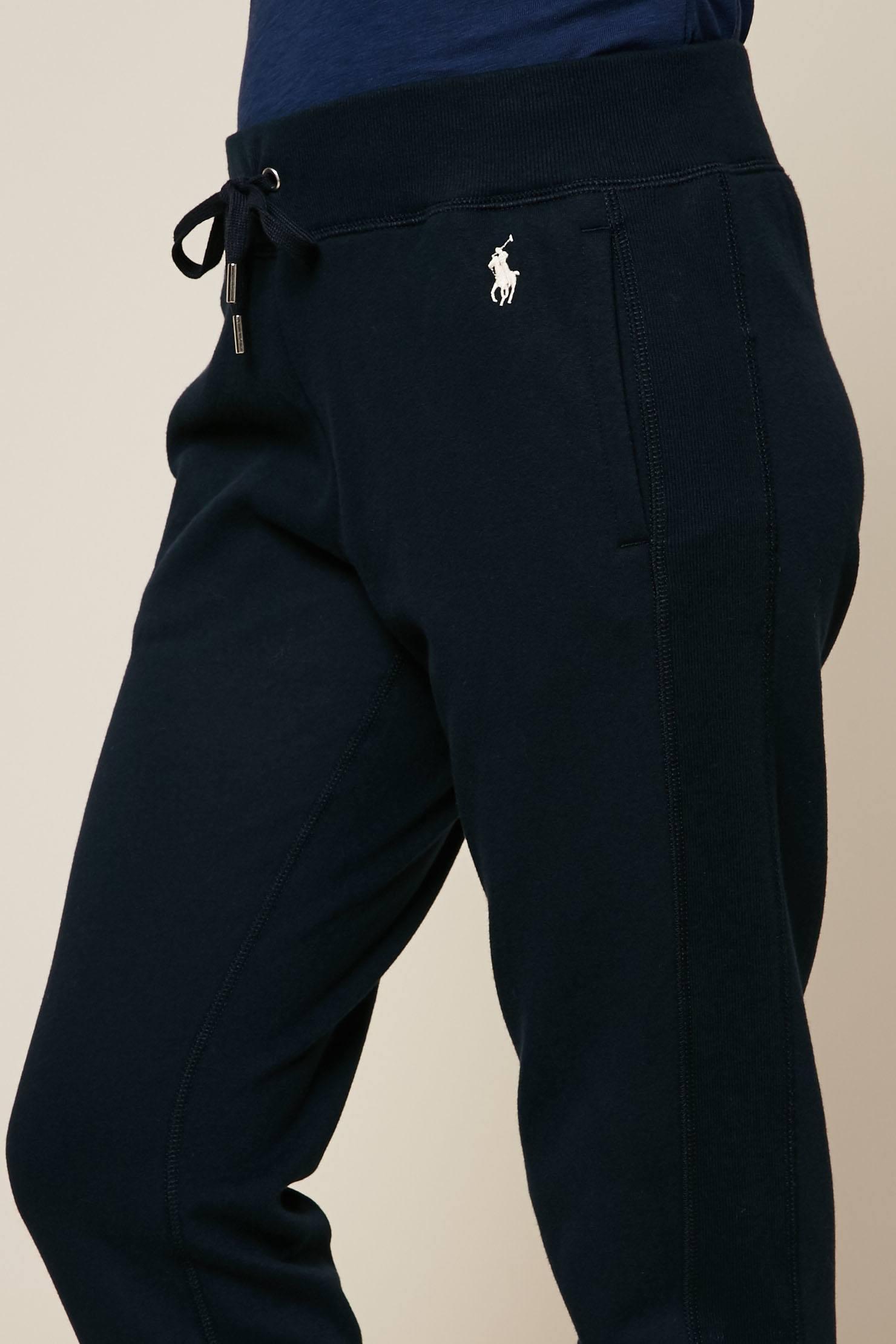 9622acf2f5d Polo Ralph Lauren Pantalon de jogging marine - Jogging Femme ...