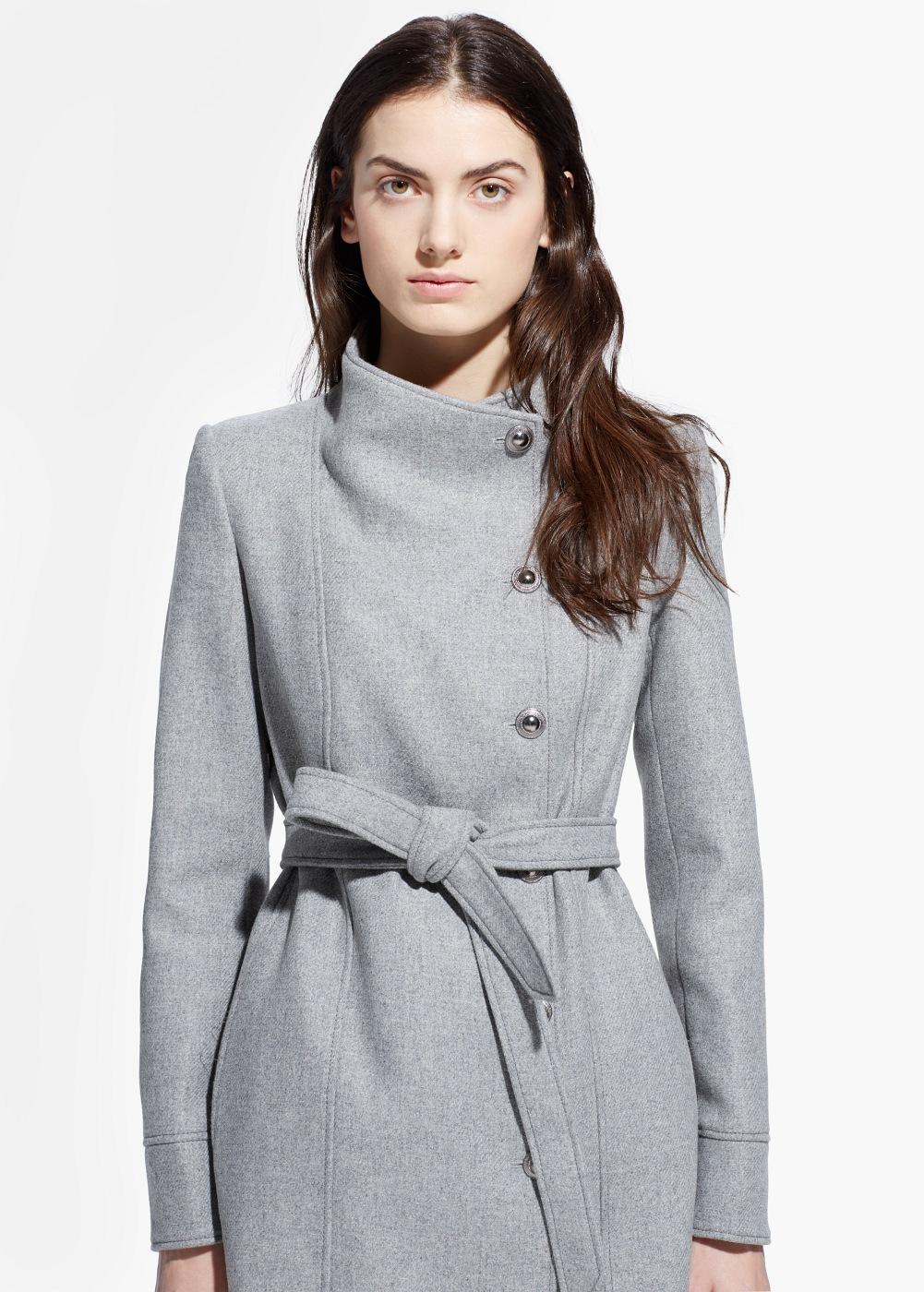 Manteau automne femme noir