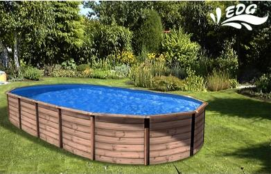piscine la redoute piscine hors sol mambo en acier ovale. Black Bedroom Furniture Sets. Home Design Ideas