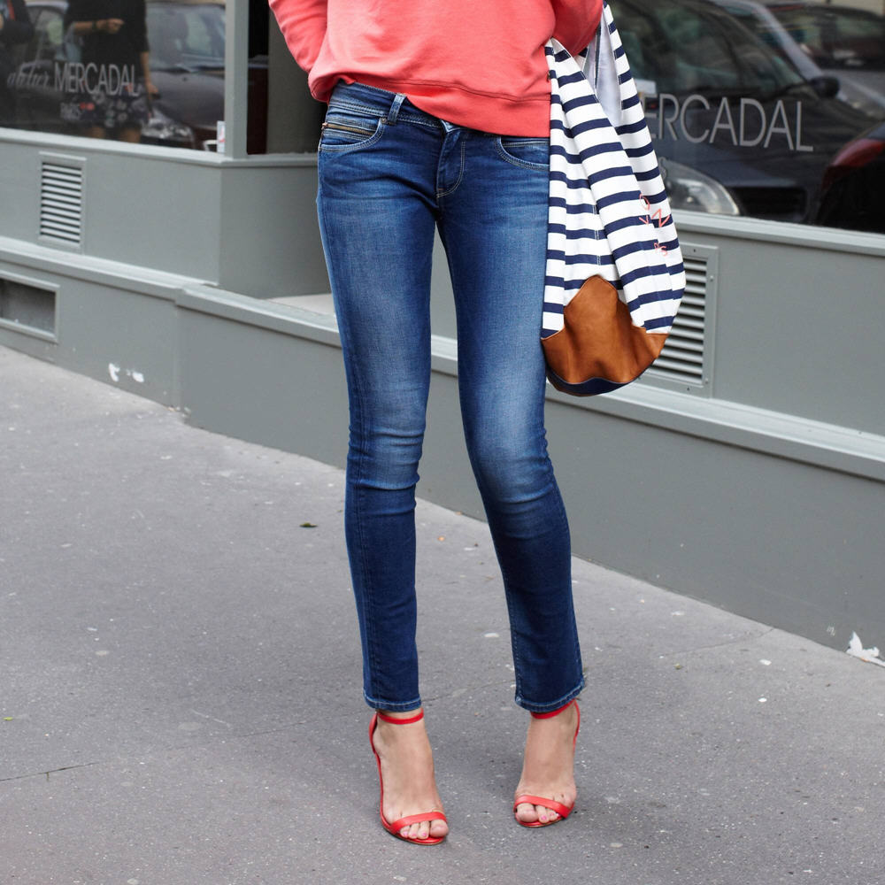 db433a7e16f7c jean slim femme new brooke pepe jeans jeans femme suisses with jean slim  femme