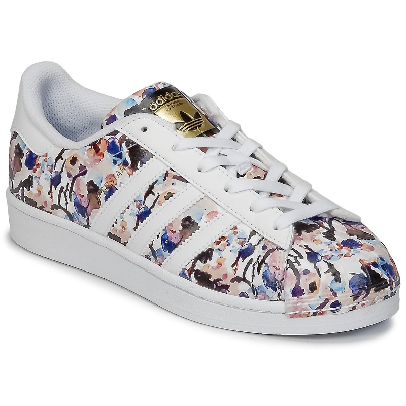 Adidas Originals SUPERSTAR J Multicolore