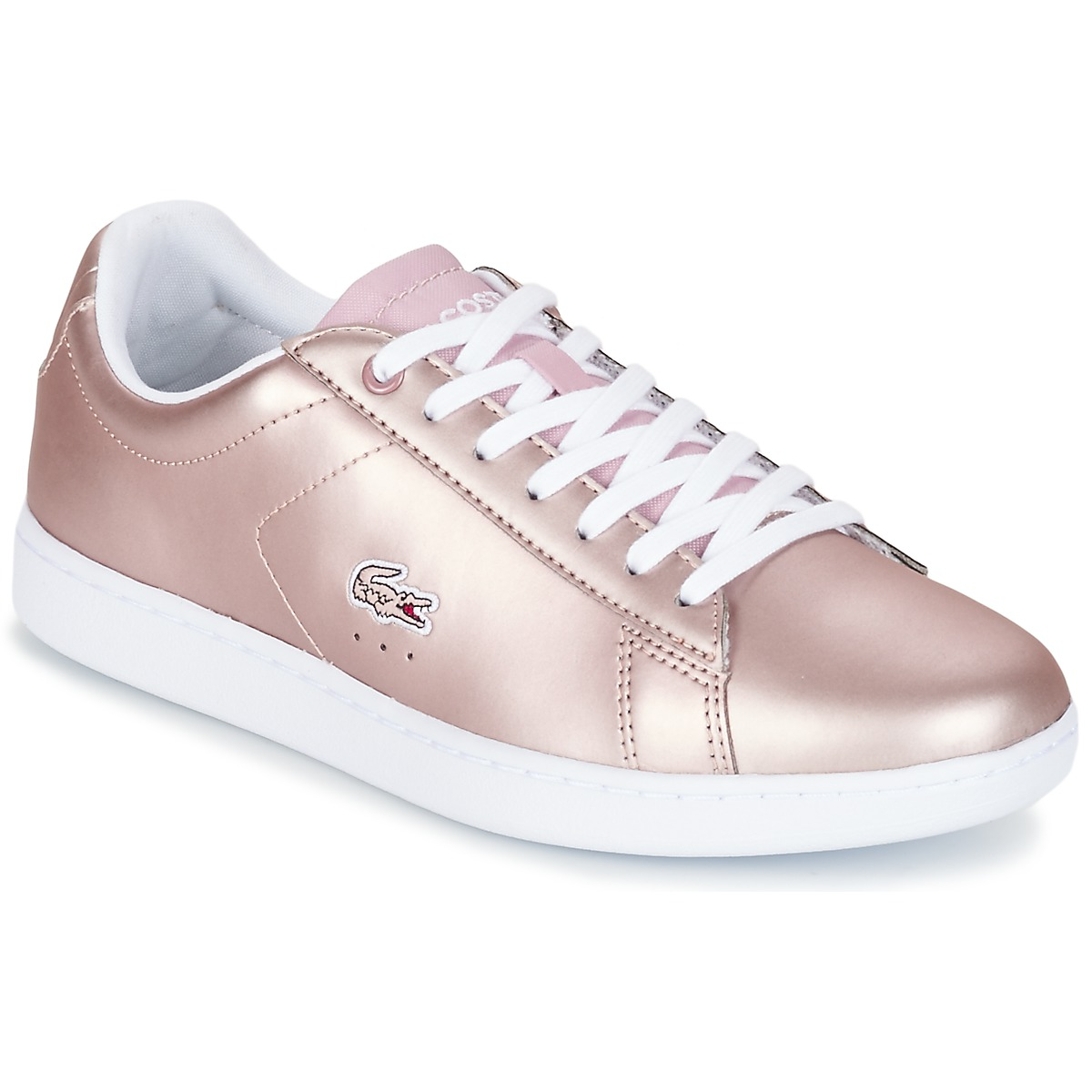 Lacoste CARNABY EVO 117 3 Rose - Spartoo