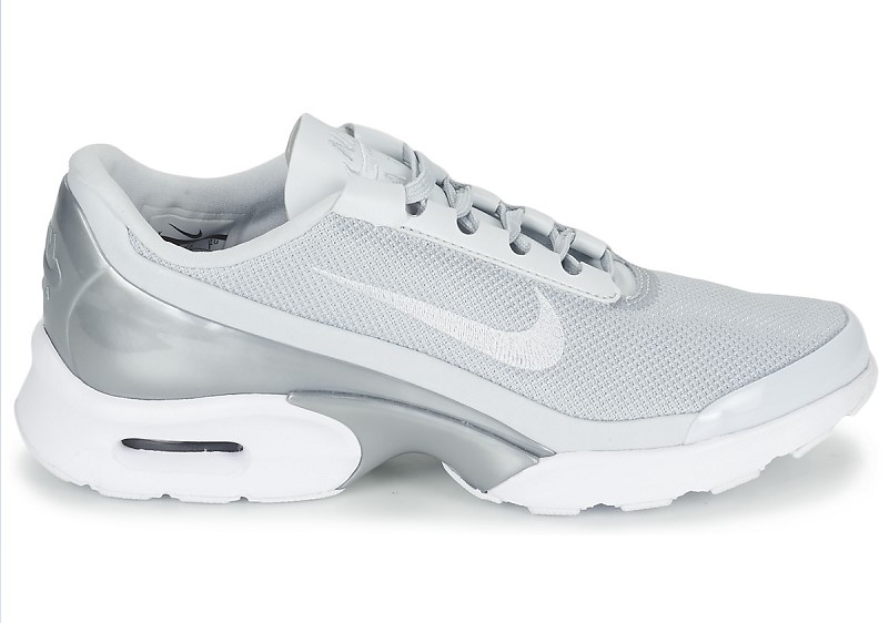 Nike AIR MAX JEWELL PREMIUM W Gris Argent Baskets Femme