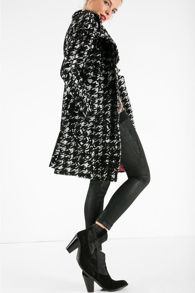 nouveau style 89ffe a2ce7 Manteau Lorena Desigual - Manteau Femme Desigual - Iziva.com