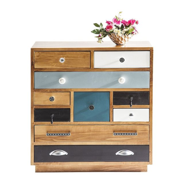 Commode Babalou Closed 10 Drawer Kare Design