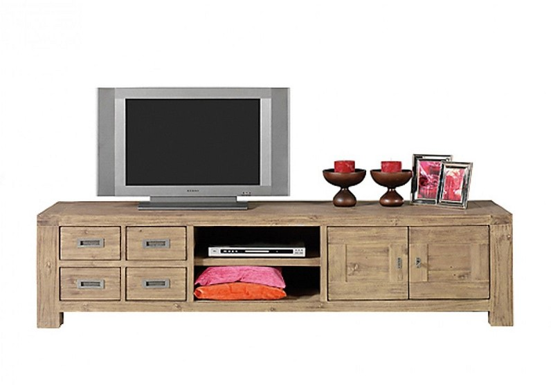 soldes meuble tv la redoute meuble tv miro tikamoon. Black Bedroom Furniture Sets. Home Design Ideas