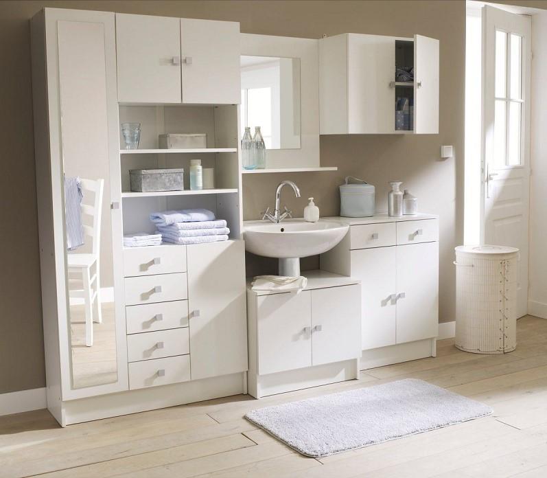 Meuble sous vasque de salle de bains loft meuble salle - Meuble sous vasque lapeyre ...