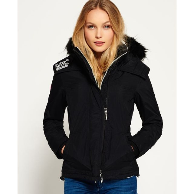 Veste à capuche avec fourrure Sherpa Wind Attacker SUPERDRY
