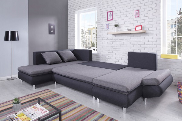 bobochic canap nesty panoramique pas cher canap rue du commerce. Black Bedroom Furniture Sets. Home Design Ideas
