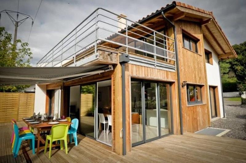 Abritel location tarnos maison d 39 architecte entre for Abritel collioure maison