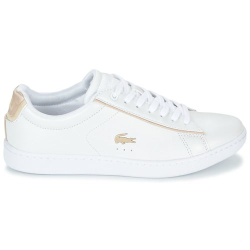Lacoste CARNABY EVO 118 6 Blanc Baskets basses