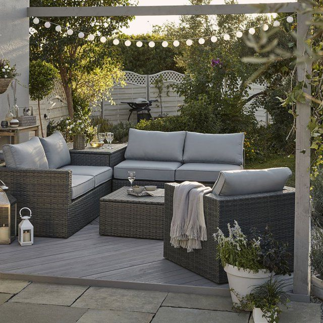 salon de jardin sulana 2 effet r sine tress e salon de jardin castorama. Black Bedroom Furniture Sets. Home Design Ideas