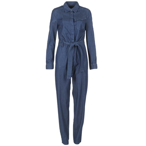 G-Star Raw TACOMA JUMPSUIT Bleu Laverton Denim Rinsed