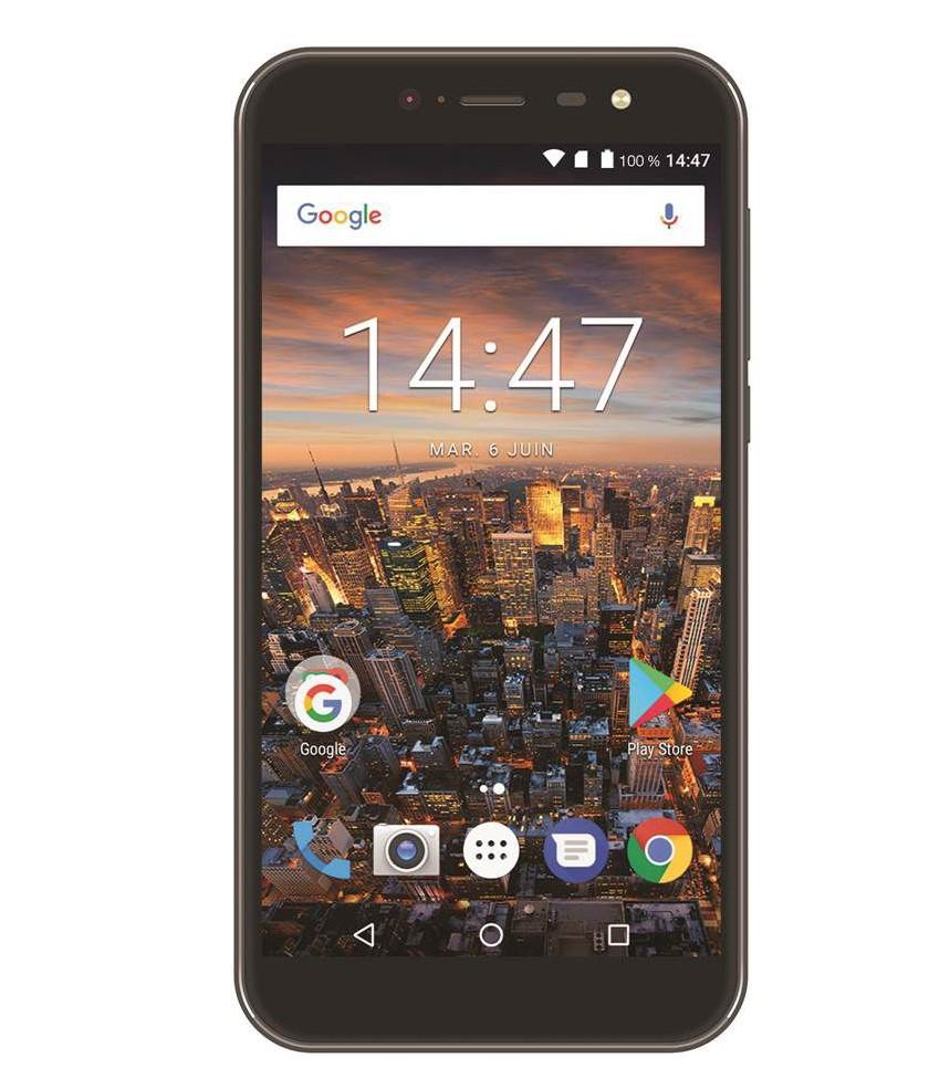 Smartphone Essentielb Wooze XL Noir
