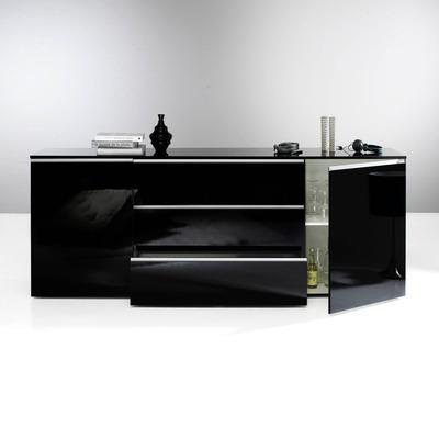 Stunning Buffet Noir Laque Conforama Contemporary - Design Trends ...