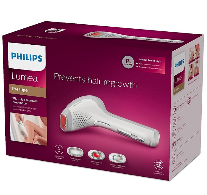 Philips SC2009/00 Lumea Prestige Epilateur à lumière pulsée sans fil - Amazon