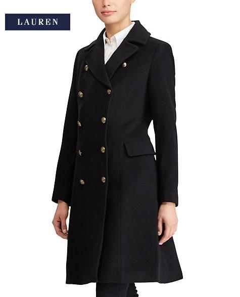 manteau femme laine ralph lauren