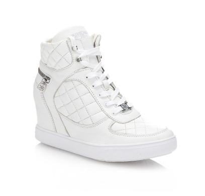 e2e154c0bc24 Abby Quilted Sneaker Guess - Baskets Femme Guess  (Mode)  GUESS FR Abby  Quilted Sneaker Baskets Femme Guess, craquez sur les Abby Quilted Sneaker  Guess prix ...