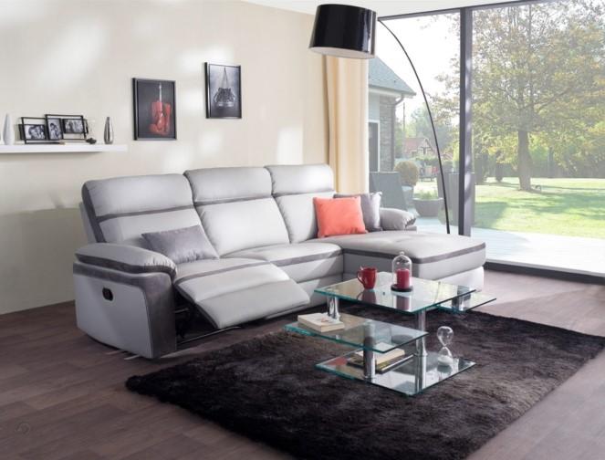 canap angle 2 versions droite et gauche portland la redoute interieurs. Black Bedroom Furniture Sets. Home Design Ideas