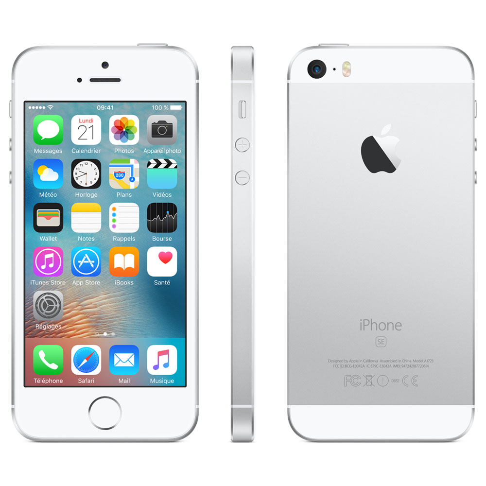 Apple iPhone SE 32 Go 4' Argent