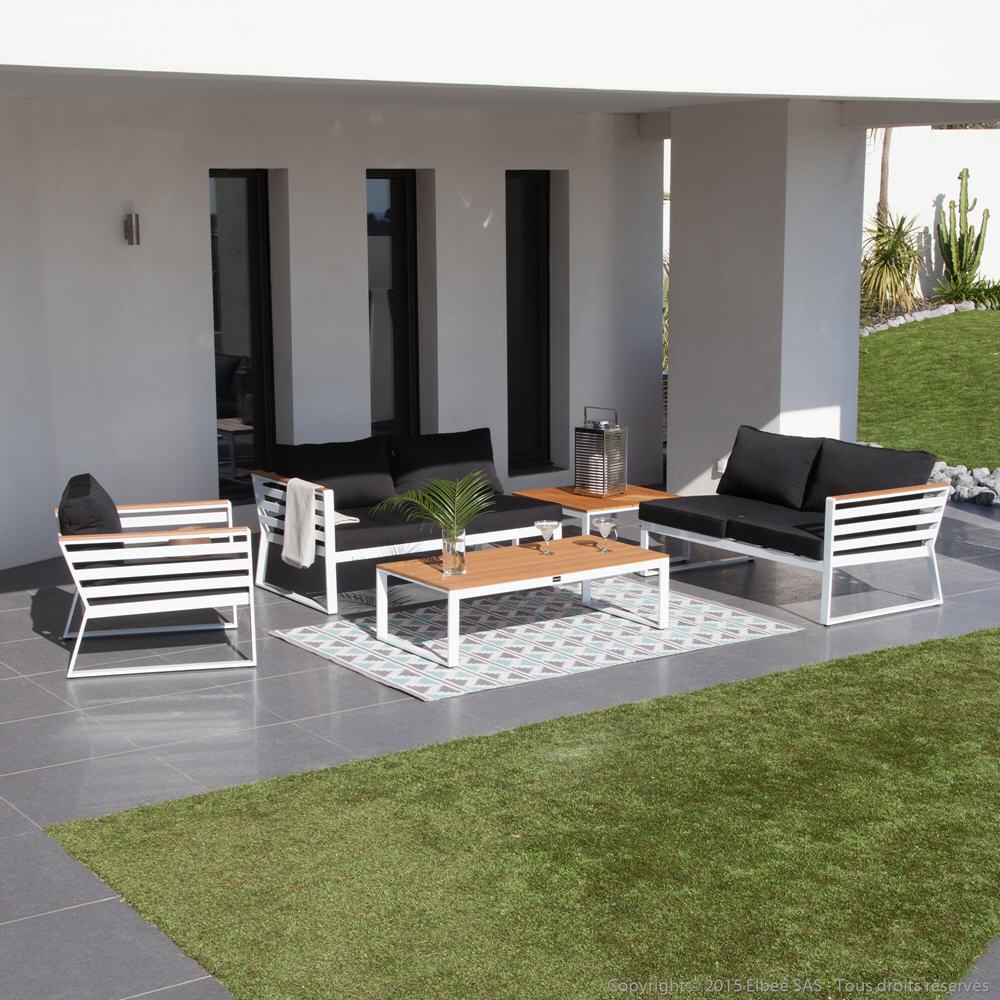 Com Chaise Jardin Castorama # Salon De Jardin Blanc Castorama