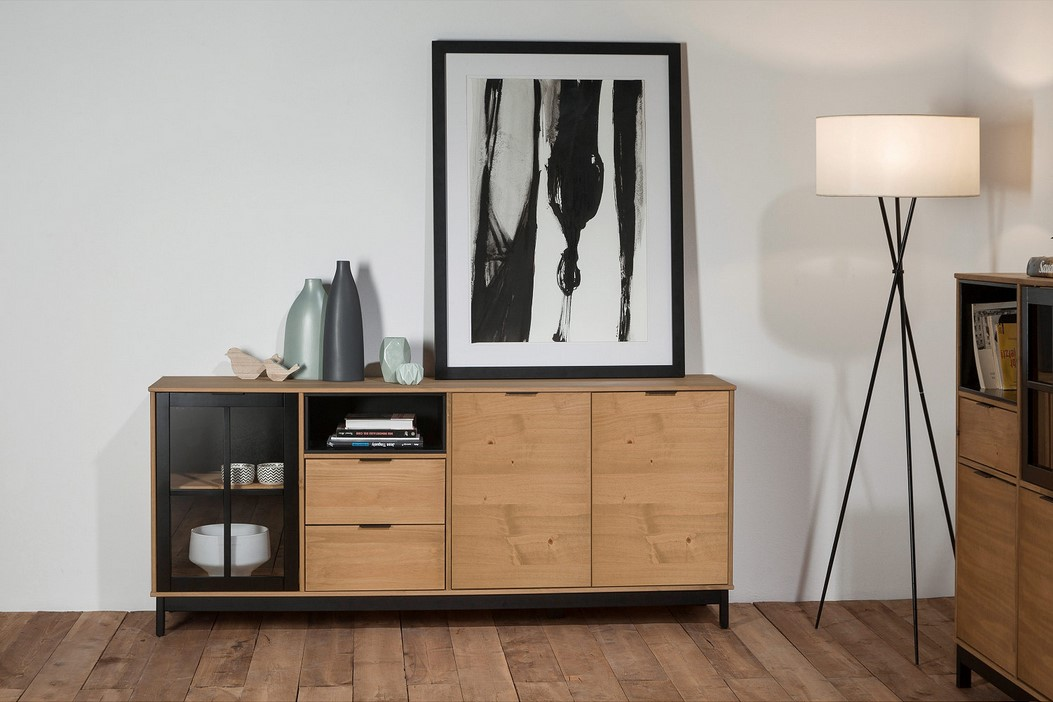 soldes buffet sur iziva. Black Bedroom Furniture Sets. Home Design Ideas
