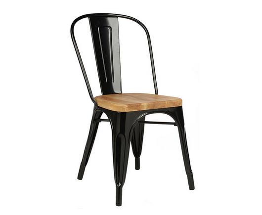 Chaises PrivateFloor Chaise Retro Assise En Bois Inspire Xavier Pauchard