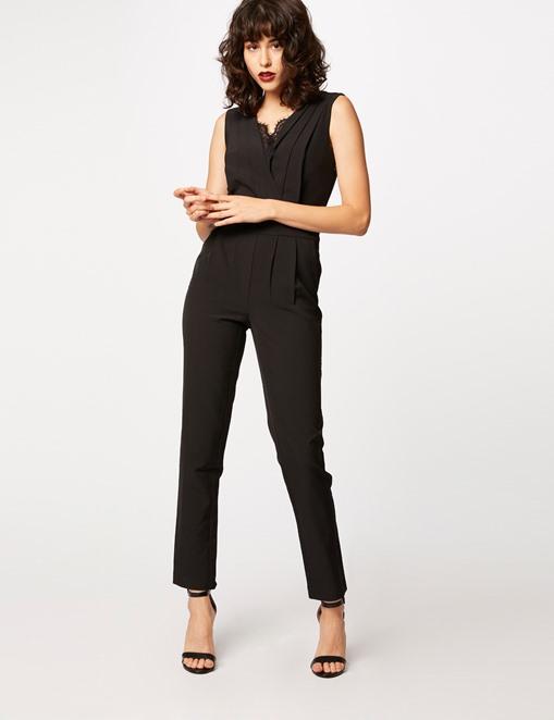 Combinaison-pantalon avec dentelle Morgan