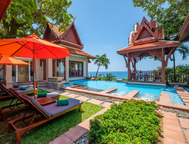 Hôtel Phuket Diamond Cliff Resort and Spa 4* sup à Patong Beach en Thaïlande