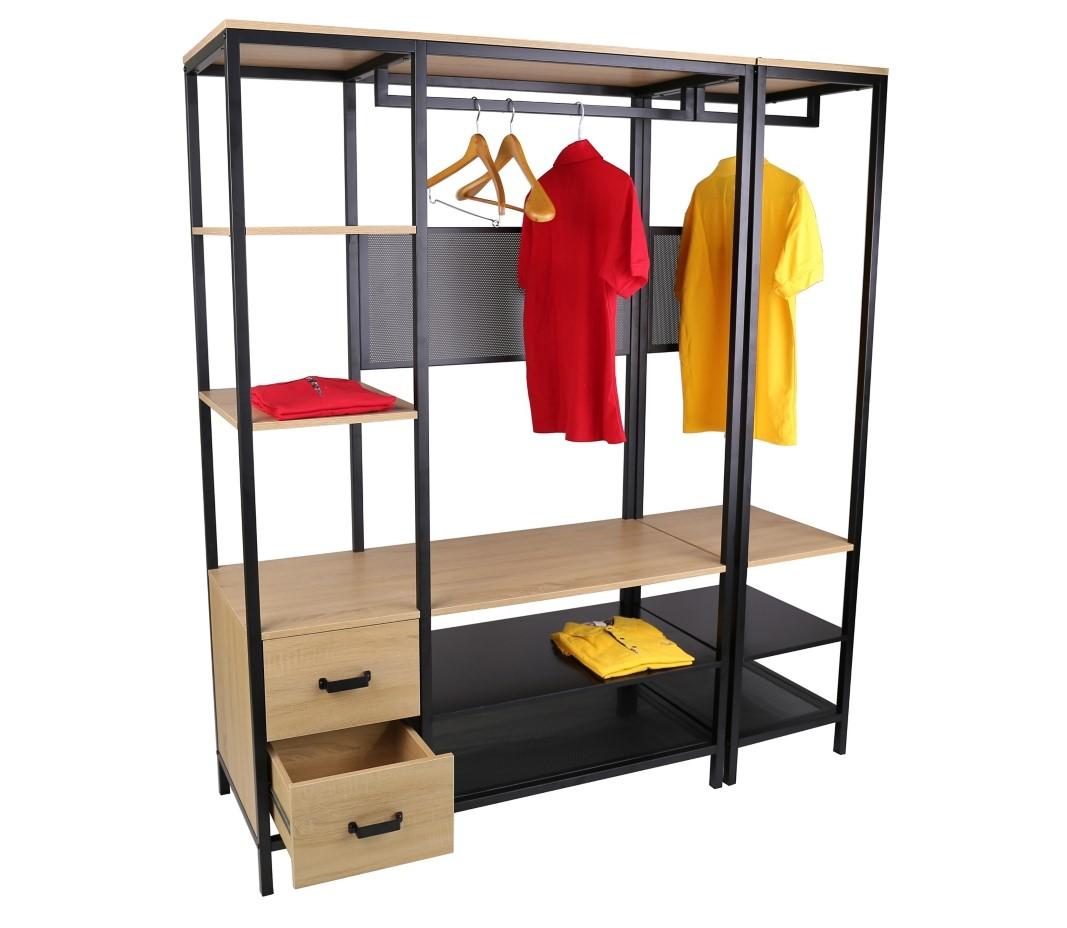 dressing pas cher castorama dressing blanc largeur 150 cm. Black Bedroom Furniture Sets. Home Design Ideas