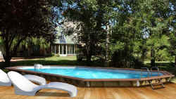 Piscine Cdiscount - CRISTALINE piscine EVOLUX CLASSIC Cdiscount
