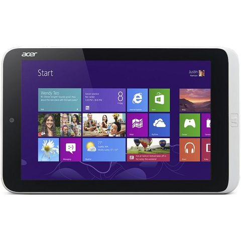 62fe3abaa5d Tablette Tactile Auchan - ACER Iconia Tab W3-810 Blanc - Iziva.com