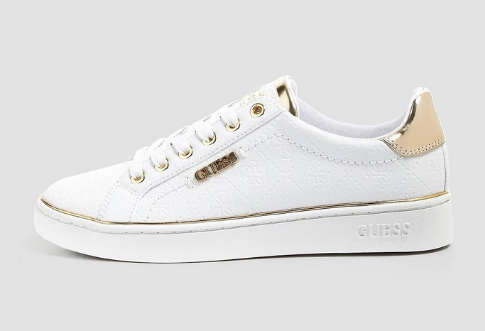 SNEAKERS BECKIE IMPRIME LOGO Blanc GUESS