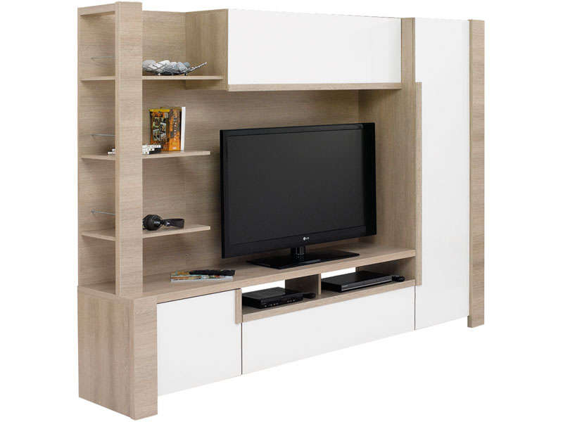 meuble tv mural lounge meuble tv conforama. Black Bedroom Furniture Sets. Home Design Ideas
