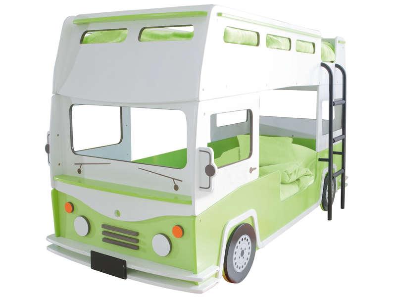 lit superposs camion 90 x 190 cm bussy lit enfant conforama - Conforama Lit Superpose