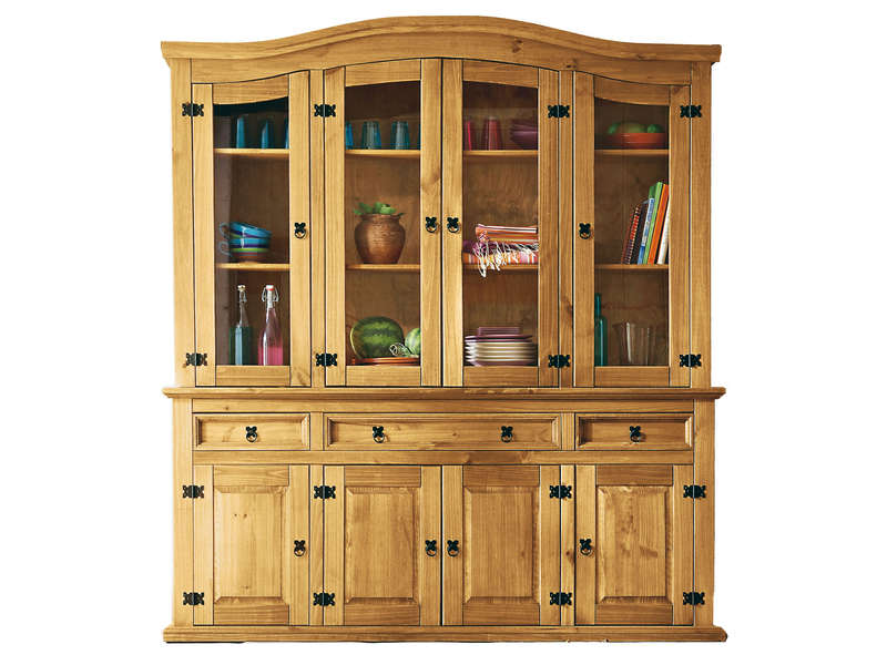 soldes buffet conforama soldes buffet vaisselier 4 portes el patio. Black Bedroom Furniture Sets. Home Design Ideas